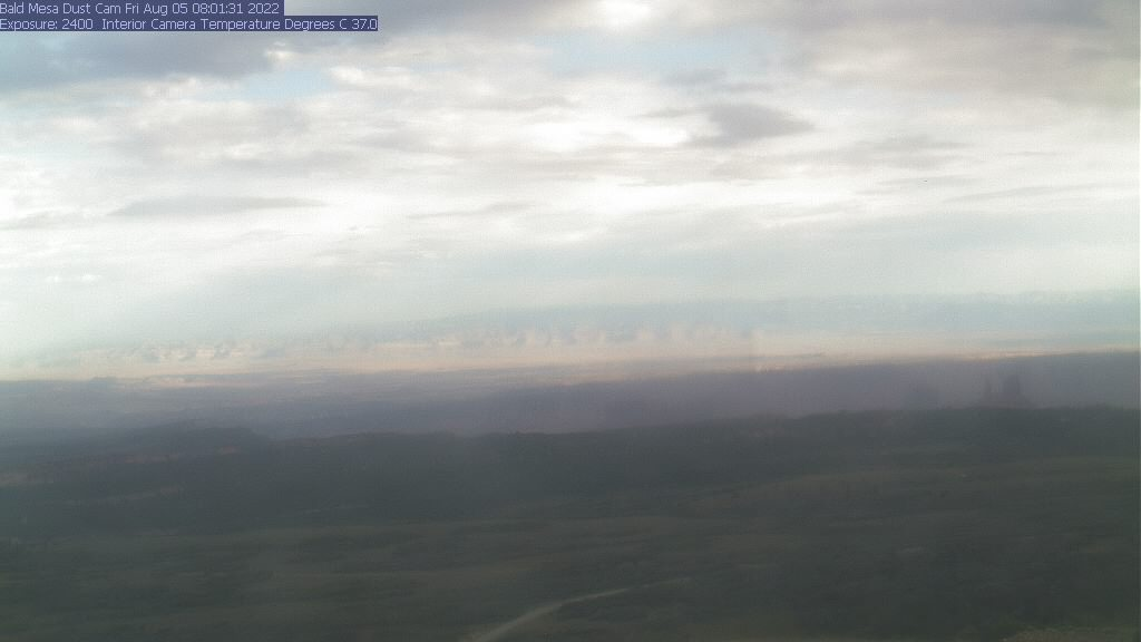 Photo from the Bald Mesa webcam