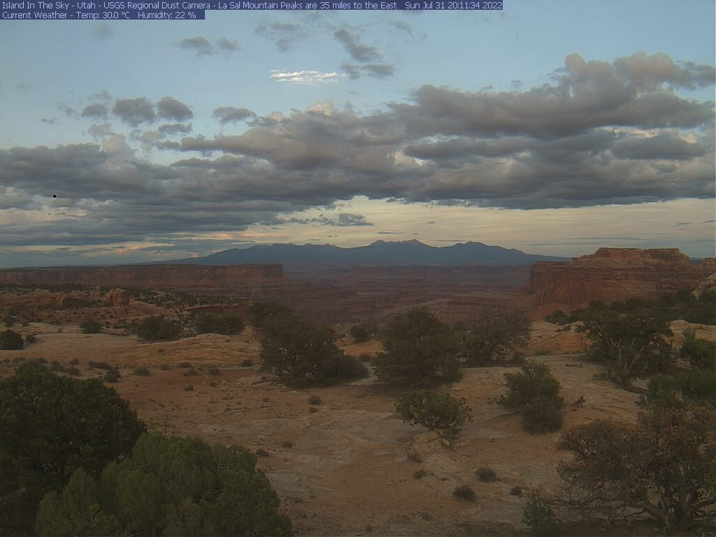 Canyon Lands National Park webcam