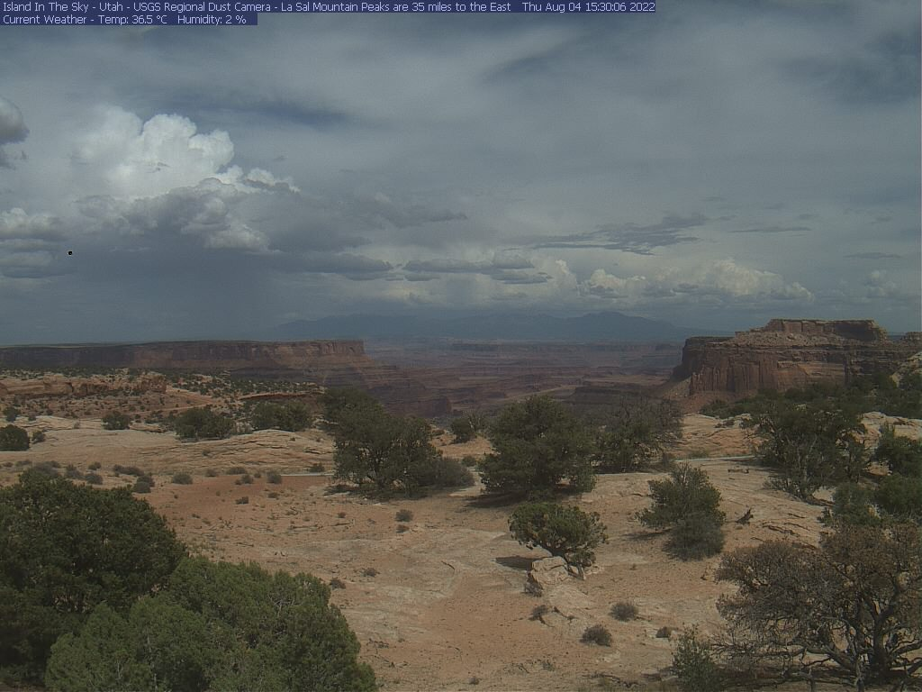 Webcam Island in the Sky - Moab