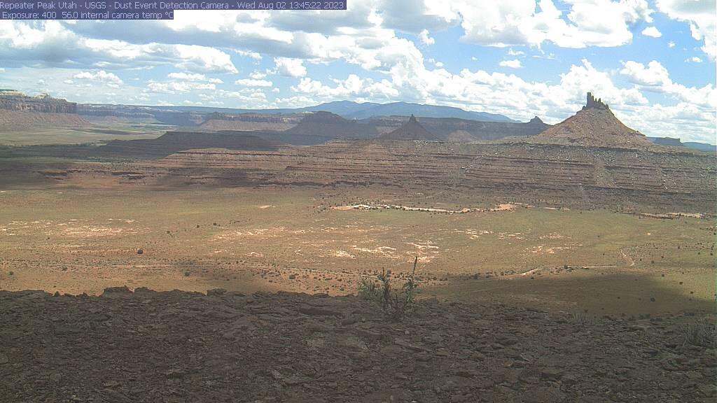 Canyonlands Six Shooter Peaks